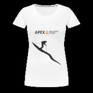 T-Shirts ~ Women's Premium T-Shirt ~ Women's Ski T-Shirt (Black)