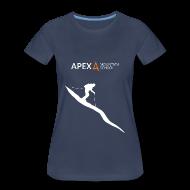 T-Shirts ~ Women's Premium T-Shirt ~ Women's Ski T-Shirt (White)