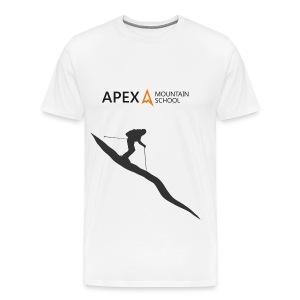 Men's Ski T-Shirt (Black) - Men's Premium T-Shirt