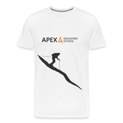 Men's Ski T-Shirt (Black) - Men's Premium T-Shirt