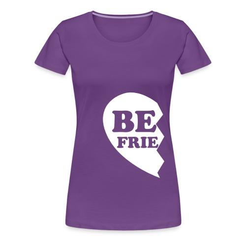 Best Friends Half 1 Women's Fitted Classic T-Shirt - Women's Premium T-Shirt