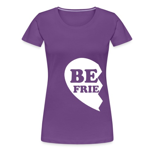 Best Friends Half 1 Women's Fitted Classic T-Shirt - Women's Premium T-Shirt
