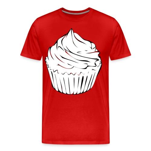 cupcake curls - Men's Premium T-Shirt