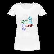 T-Shirts ~ Women's Premium T-Shirt ~ Elemental full-color women's T