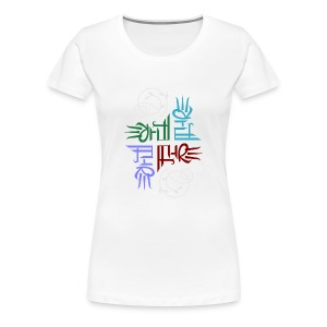 Elemental full-color women's T - Women's Premium T-Shirt