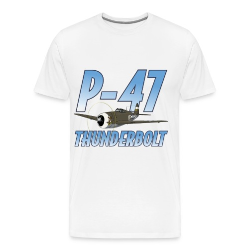P-47 Thunderbolt - Men's Premium T-Shirt
