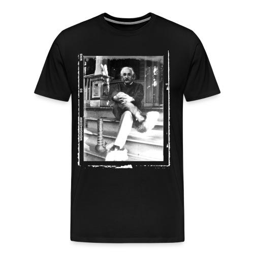 Einstein & His Bong - Men's Premium T-Shirt