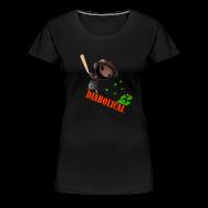 Women's T-Shirts ~ Women's Premium T-Shirt ~ The 'Diabolical' Sack