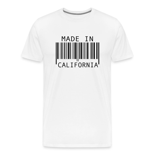 made in cali - Men's Premium T-Shirt