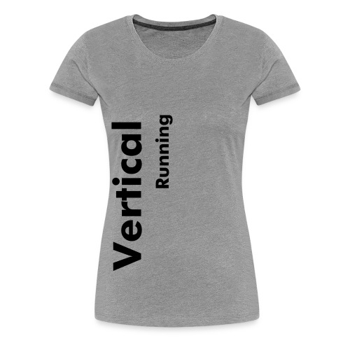 Vertical Running - Women's Premium T-Shirt