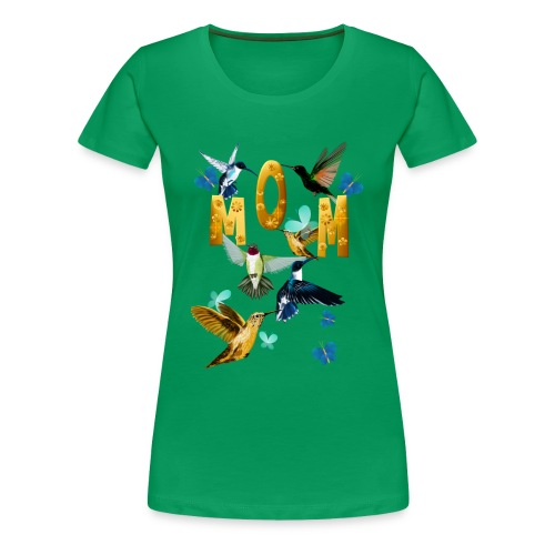 MOM-For the birds - Women's Premium T-Shirt