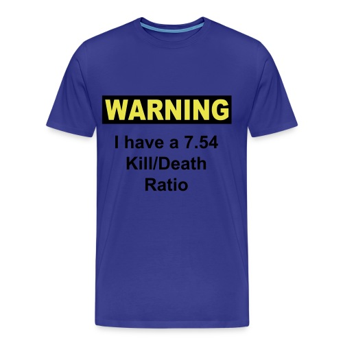 KD Warning - Men's Premium T-Shirt