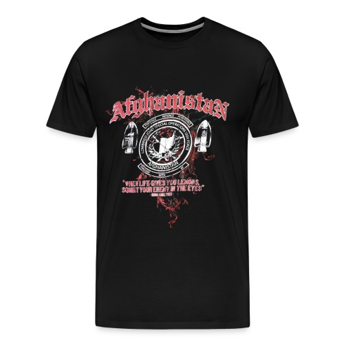 Afghanistan Special Operations 2 - Men's Premium T-Shirt