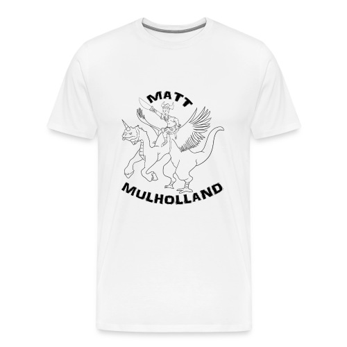 Matt Mulholland t-shirt for dudes - Men's Premium T-Shirt