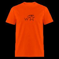 T-Shirts ~ Men's T-Shirt ~ Men's Gildan Black Logo S--2X Wranglerstar