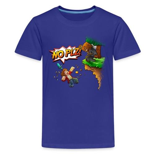 No Plz Kids T-Shirt - Kids' Premium T-Shirt