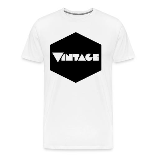 Vintageness 01 - Men's Premium T-Shirt