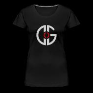 T-Shirts ~ Women's Premium T-Shirt ~ Women's T-Shirt - Light Logo