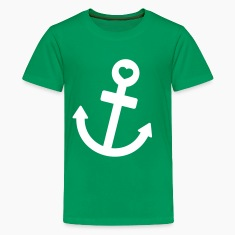 anchor of my life Kids' Shirts