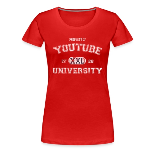 YouTube U (Girls) - Women's Premium T-Shirt
