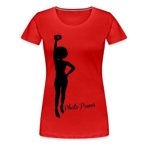 Photo Power - Women's Premium T-Shirt