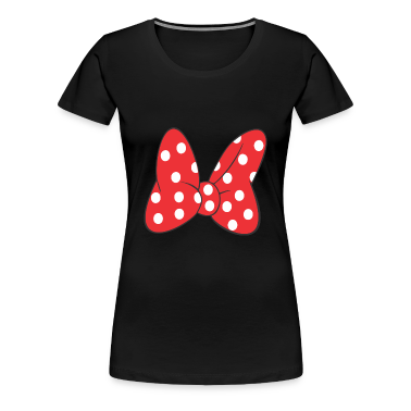 Minnie Bow Red Women's T-Shirts