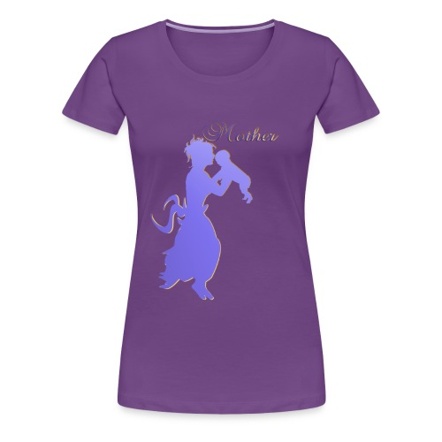 Mother-silhouette - Women's Premium T-Shirt