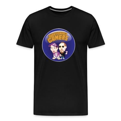 Questionable Gamers Shirt - Men's Premium T-Shirt