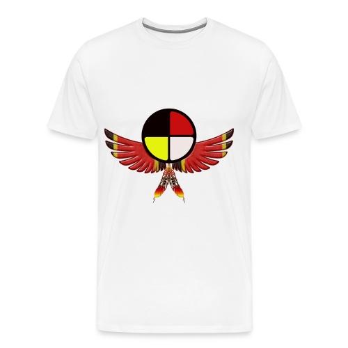 Medicine Wheel - Men's Premium T-Shirt