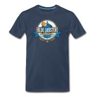 T-Shirts ~ Men's Premium T-Shirt ~ Blue Lobster Full Sail Ale
