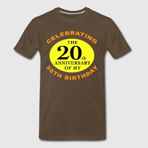 Over The Hill 50th Birthday - Men's Premium T-Shirt