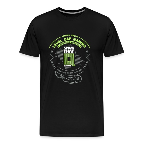 Spam That Q Button - Men's Premium T-Shirt