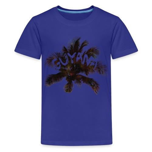 Guyana Coconut Tree - Kids' Premium T-Shirt