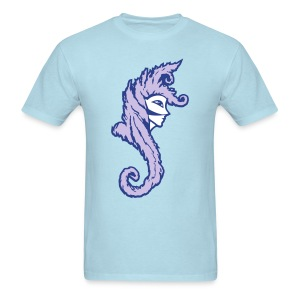 Okami (Purple/Lavender) Men's Standard Weight T-Shirt - Men's T-Shirt