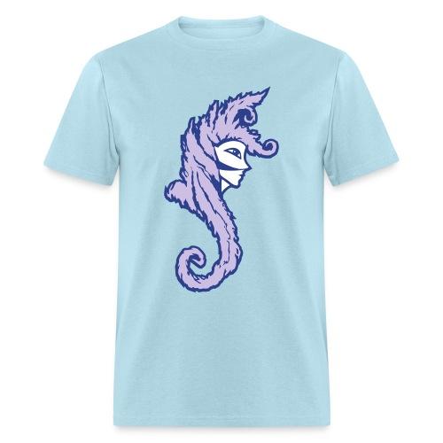 Okami (Purple/Lavender) Men's Standard Weight T-Shirt - Men's T-Shirt