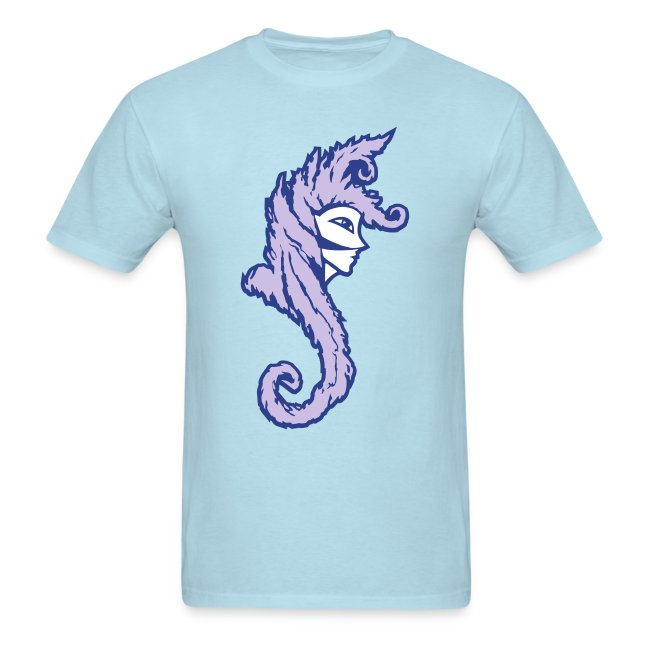 Okami (Purple/Lavender) Men's Standard Weight T-Shirt