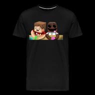 T-Shirts ~ Men's Premium T-Shirt ~ Chilled Loves Ze (Heavy T-shirt)