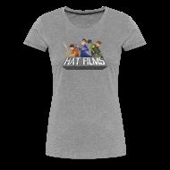 T-Shirts ~ Women's Premium T-Shirt ~ Hat Films - Locked n Loaded Womens Fitted Classic T-Shirt