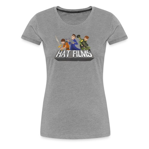 Hat Films - Locked n Loaded Womens Fitted Classic T-Shirt - Women's Premium T-Shirt