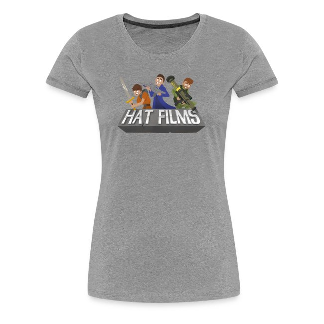 Hat Films - Locked n Loaded Womens Fitted Classic T-Shirt