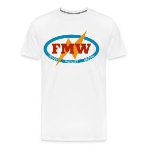 FMW white - Men's Premium T-Shirt