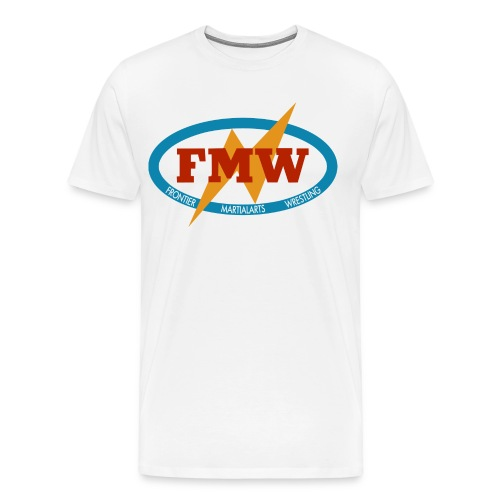 FMW white - Men's Premium T-Shirt