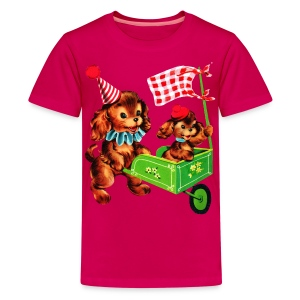 baby puppy - Kids' Premium T-Shirt