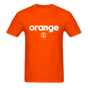Orange No Flash Tee - Men's T-Shirt