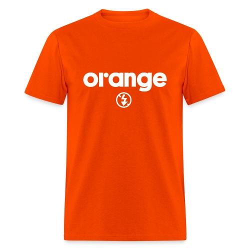 Orange No Flash Tee - Men's T-Shirt