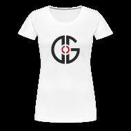 Women's T-Shirts ~ Women's Premium T-Shirt ~ Women's T-Shirt - Dark Logo