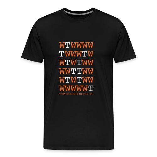 Dynamo home unbeaten streak - Men's Premium T-Shirt