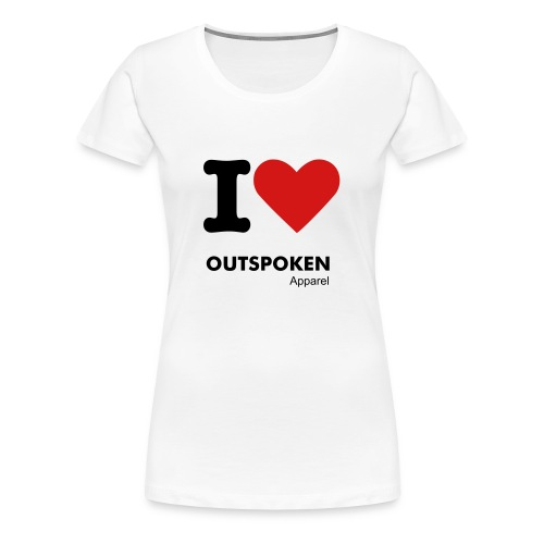 I Love OA - Women's Premium T-Shirt