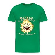 T-Shirts ~ Men's Premium T-Shirt ~ Busse Fire Ring Mens Tee