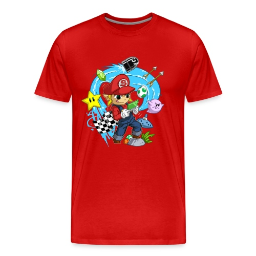 Men's Shirt. - Men's Premium T-Shirt